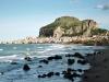 cefalu from beach