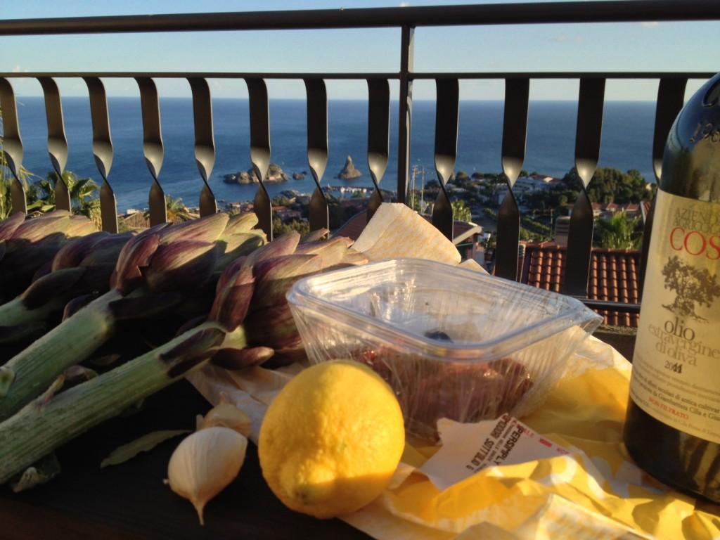 sicilian artichoke 1