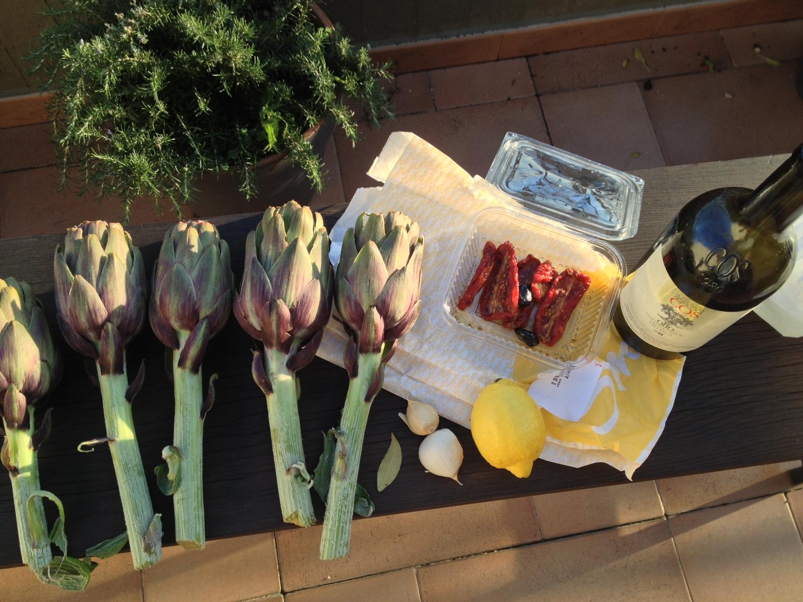 sicilian artichokes 3