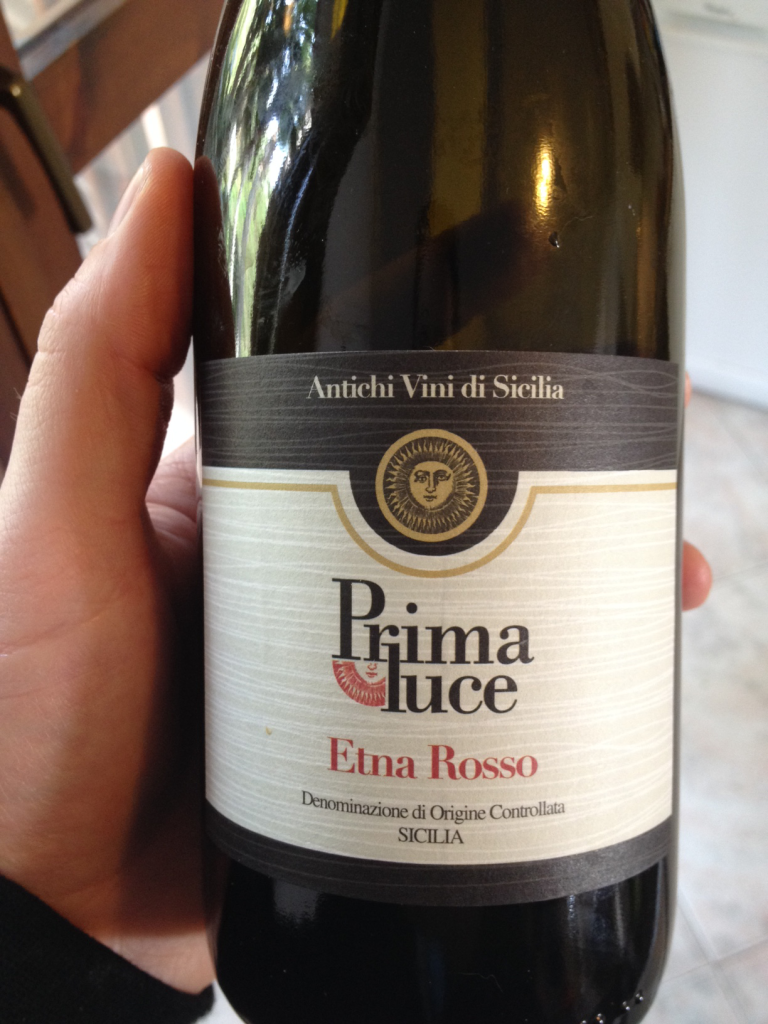 This wine is called Prima Luce ( First Light)... might want to change it to Prima Volta (First Try) because it tastes like it.