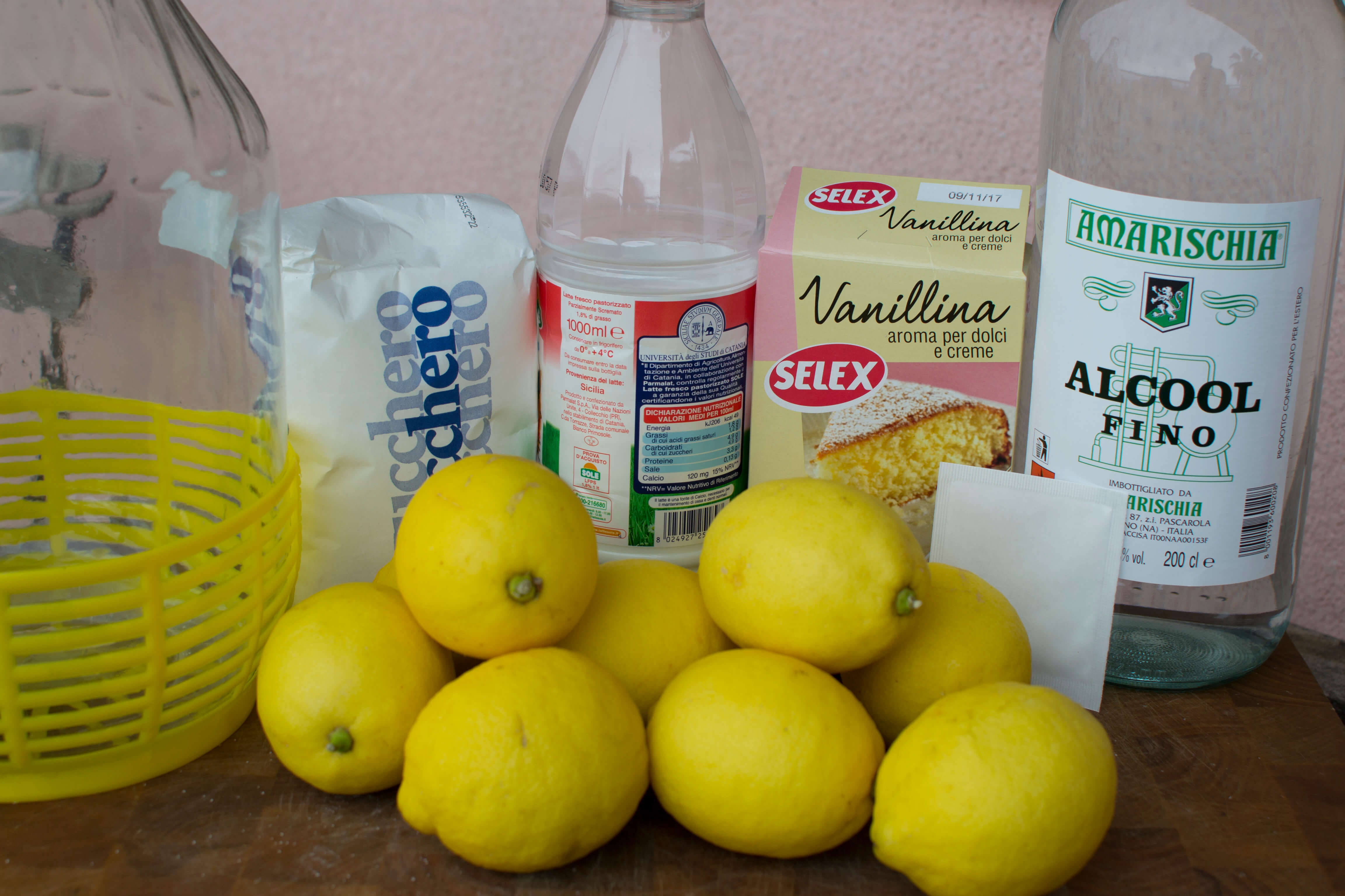 Sicilian Limoncello Recipes Sicily Ciao